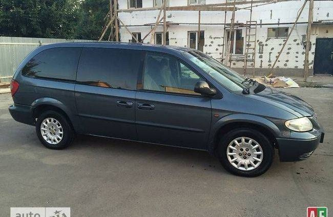 Chrysler Grand Voyager 2001 №36056 купить в Ужгород - 3